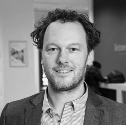 Portretfoto Aart Schouten secretaris van het bestuur