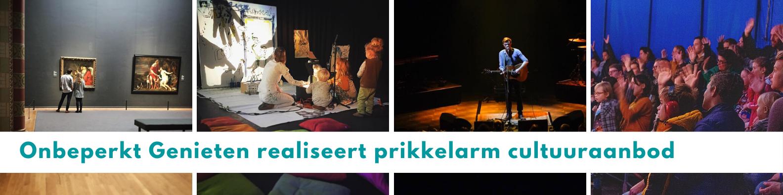 Onbeperkt Genieten realiseert prikkelarm cultuuraanbod in Nederland