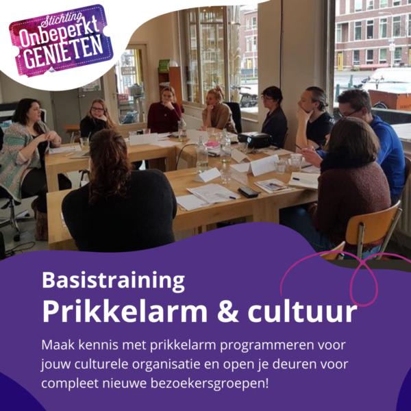 Basistraining prikkelarm en cultuur